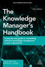 The Knowledge Manager's Handbook