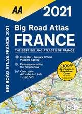 Big Road Atlas France 2021