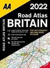 ROAD ATLAS BRITAIN 2022 SP