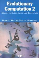 Evolutionary Computation 2:  Advanced Algorithms and Operators