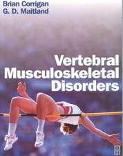 Vertebral Musculoskeletal Disorders