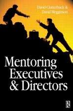 Mentoring Executives and Directors
