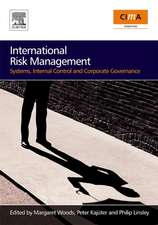 International Risk Management: Systems, Internal Control and Corporate Governance