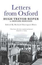 Trevor-Roper, H: Letters from Oxford