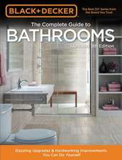 Black & Decker Complete Guide to Bathrooms 5th Edition