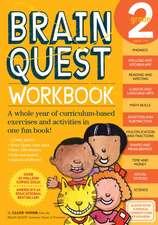 Brain Quest Grade 2 Workbook [With Stickers]