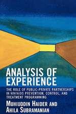 Analysis of Experience