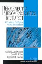 Hermeneutic Phenomenological Research: A Practical Guide for Nurse Researchers