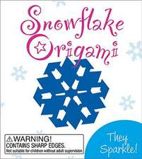 Snowflake Origami: They Sparkle!