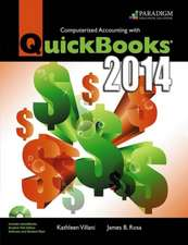 Computerized Accounting with QuickBooks¿ 2014