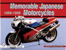 Memorable Japanese Motorcycles: 1959-1996
