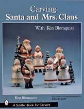 Carving Santa and Mrs.Claus