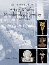 Hand Wrought Arts & Crafts Metalwork and Jewelry