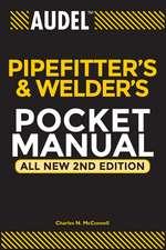 Audel Pipefitter′s and Welder′s Pocket Manual