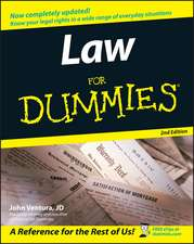 Law For Dummies