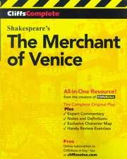 CliffsComplete Merchant of Venice