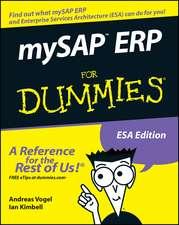 mySAP ERP For Dummies