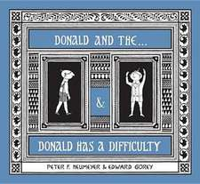 Donald & The...& Donald Has a Difficulty:  A Book of Postcards