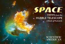Space Views from the Hubble Telescope Book of Postcards AA911