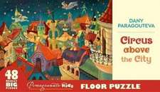 Dany Paragouteva Circus Above the City Floor Puzzle