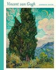 Vincent Van Gogh Deluxe Address Book