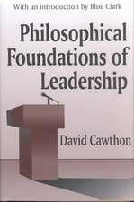 Philosophical Foundations Leadership (Clt)
