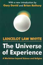 The Universe of Experience
