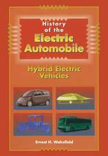 History of the Electric Automobile