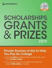 Scholarships, Grants & Prizes 2019