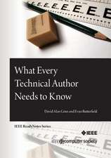 What Every Technical Author Needs to Know:  Based on Linux Kernel 2.6.34