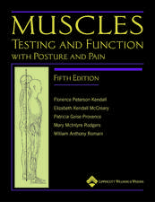 Muscles: Testing and Testing and Function, with Posture and PainFunction, with Posture and Pain