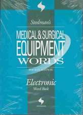 Stedman's Medical & Surgical Equipment Words, Fourth Edition, on CD-ROM