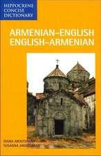 Armenian-English / English-Armenian Concise Dictionary