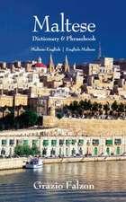 Maltese-English / English-Maltese Dictionary & Phrasebook: Spoken in Malta