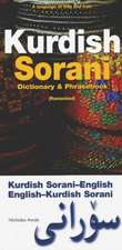 Kurdish (Sorani)-English/English-Kurdish (Sorani) Dictionary & Phrasebook