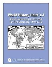 World History Units 3/4