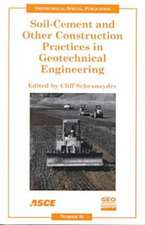 Soil-cement and Other Construction Practices in Geotechnica