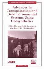 Advances in Transportation and Geoenvironmental Systems Using Geosynthetics