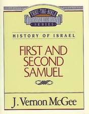 Thru the Bible Vol. 12: History of Israel (1 and   2 Samuel)