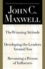 Maxwell 3-in-1: The Winning Attitude,Developing the Leaders Around You,Becoming a Person of Influence