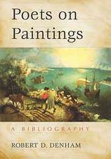 Poets on Paintings:  A Bibliography
