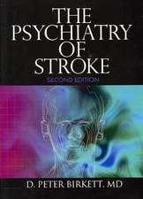 The Psychiatry of Stroke
