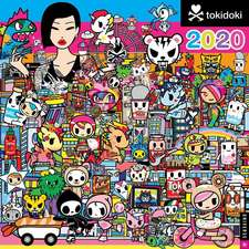 TOKIDOKI 2020 SQUARE WALL CALENDAR