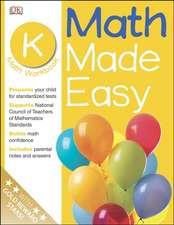 Math Made Easy:  Kindergarten