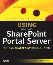 Special Edition Using Microsoft Sharepoint Portal Server