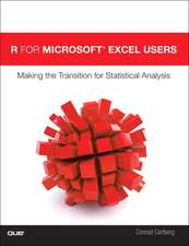 Statistical Analysis with R and Microsoft Excel