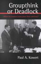 Groupthink or Deadlock