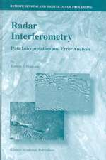 Radar Interferometry: Data Interpretation and Error Analysis