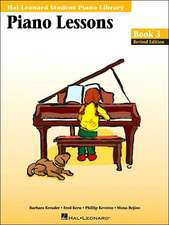 Piano Lessons Book: Hal Leonard Student Piano Library