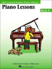 Piano Lessons, Book 4
